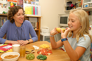 Julie M Boman, MD, talks healthy eating choices